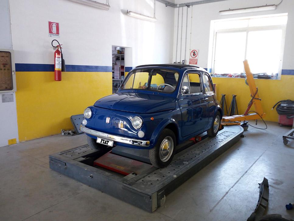 <b>Fiat 500 (lavoro ultimato)<b />